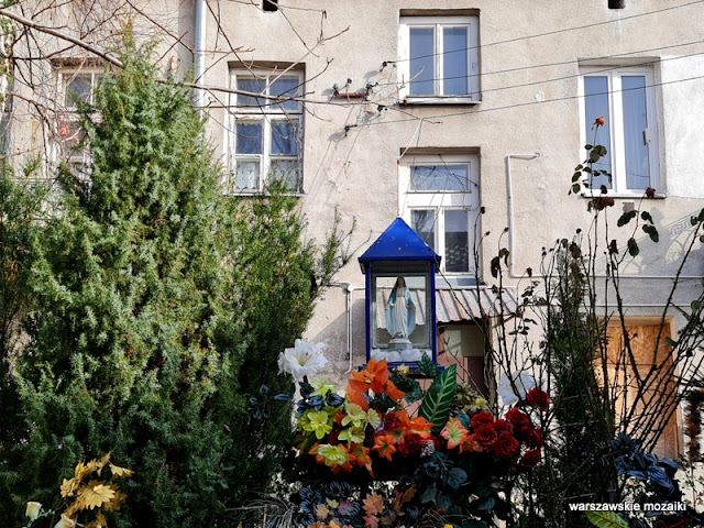 Warszawa Warsaw kapliczka warszawskie kapliczki miejsca kultu Praga Południe