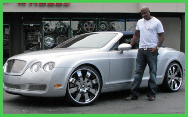Bentley Continental GT belonging to Dr Dre