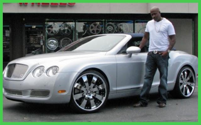 Bentley Continental GT belonging to Dr Dre