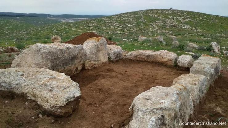Restos de torre de vigilancia del rey Ezequías