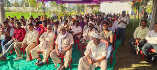 मोदी सरकार किसानों की आवाज दबाकर तानाशाही नीति अपना रही है - रामनिवास रावत