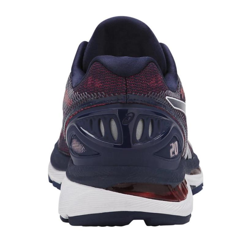 e85205694083 The midsole of the ASICS GEL-Nimbus 20 is made using FLYTEFOAM technology.  It efficiently absorbs shock and delivers high energy return for a more ...