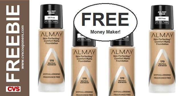 FREE Almay Foundation CVS Coupon Deal 10-4-10-10