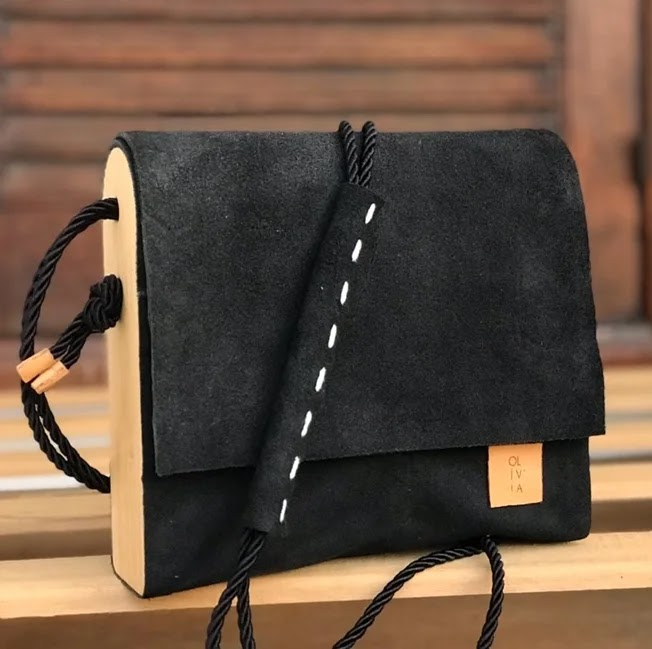 Bolsa  couro