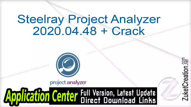 Steelray Project Analyzer 2020.04.48 + Crack
