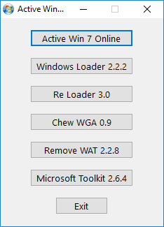 Tool Active Win 7