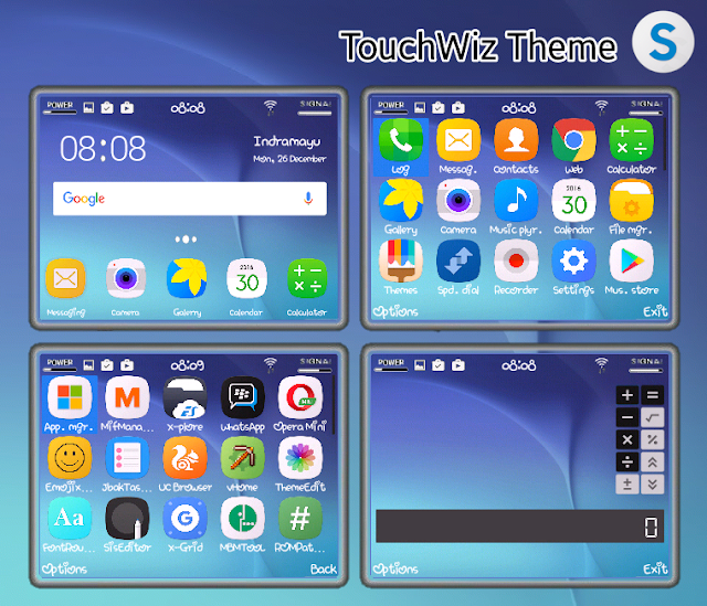 Theme TouchWiz Ui By Nengchy Cs - Gudangskins