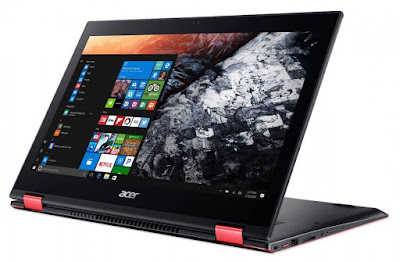 Review Spesikasi Laptop Gaming Acer  Nitro 5 Spin Unbreakable Spinning Force