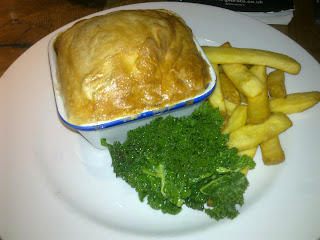 Ox Cheek Pie Review at The Junction Harborne