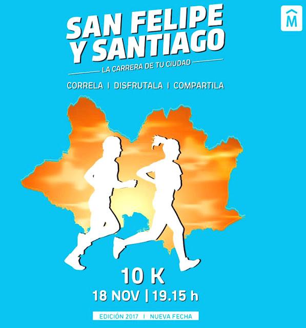 10k Corrida San Felipe y Santiago (Montevideo, 18/nov/2017)