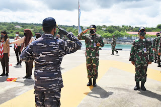 Danlantamal VII Lepas Keberangkatan KRI Bima Suci-945 Kembali Ke Pangkalan Surabaya