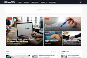 Magify Pro - Responsive Blogger Template