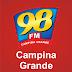 Rádio 98 FM CAMPINA GRANDE - Campina Grande / PB