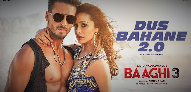 Baaghi 3 - Dus Bahane 2.0 Lyrics   Tiger shroff Shraddha kapoor - Friernds Lyrics