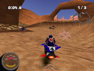 Free Download Jet Moto II PS1 ISO For PC Full Version ZGASPC