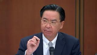 Menteri luar negeri Taiwan ungkap China Kirim Sinyal Tak Jelas ke Pulau yang Diklaim