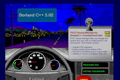 Cara Mudah Install Borland C++ 5.5 Terbaru Di Windows 32 Bit Dan 64 Bit