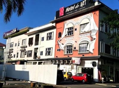Hotel de art shah alam harga