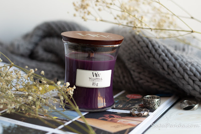 Woodwick Candle Dark Poppy отзыв