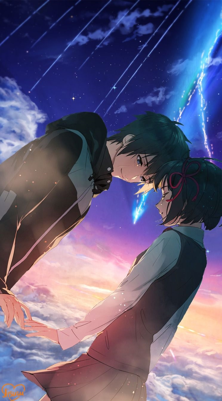 Foto anime kimi no nawa romantis