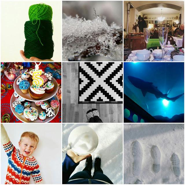 Alltagsperlen im Januar @frauvau.blogspot.de - Instarückblick Januar
