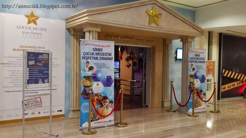 Ankara Çocuk Müzesi 4 Yaşında 62
