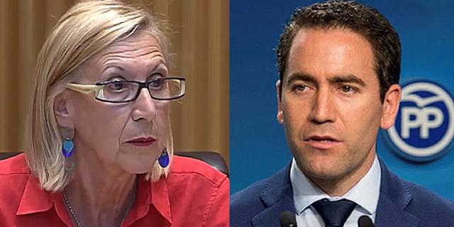 Rosa Díez y Teodoro García Egea