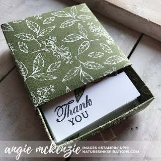 By Angie McKenzie for Stampin' Dreams Blog Hop; Click READ or VISIT to go to my blog for details! Featuring: my favorite Stampin' Up! Designer Series Paper (DSP), Magnolia Lane DSP, Detailed Trio Punch; #stampinupdsp  #magnolialanedsp #magnoliabloomsstampset #cardtechniques #bloghops #3dprojects #minicardbox #magnolialaneribboncombo