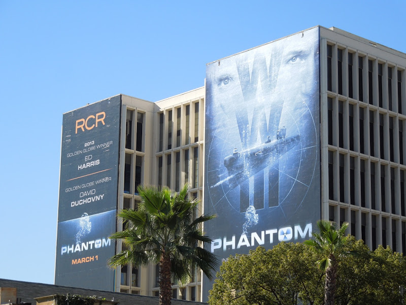 Giant Phantom movie billboards