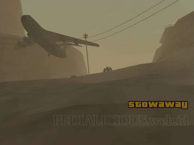 Misi Stowaway di Verdant Meadows, The Desert GTA San Andreas