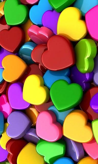 cuoricini colorati