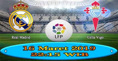 Prediksi Bola855 Real Madrid vs Celta Vigo 16 Maret 2019