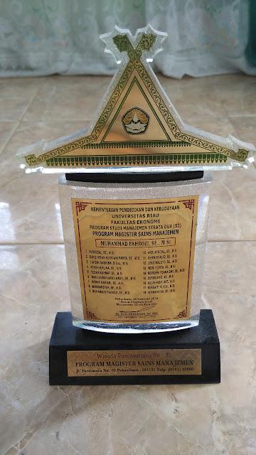 Plakat Universitas Riau