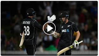 Cricket Highlights - New Zealand vs England 1st ODI 2018