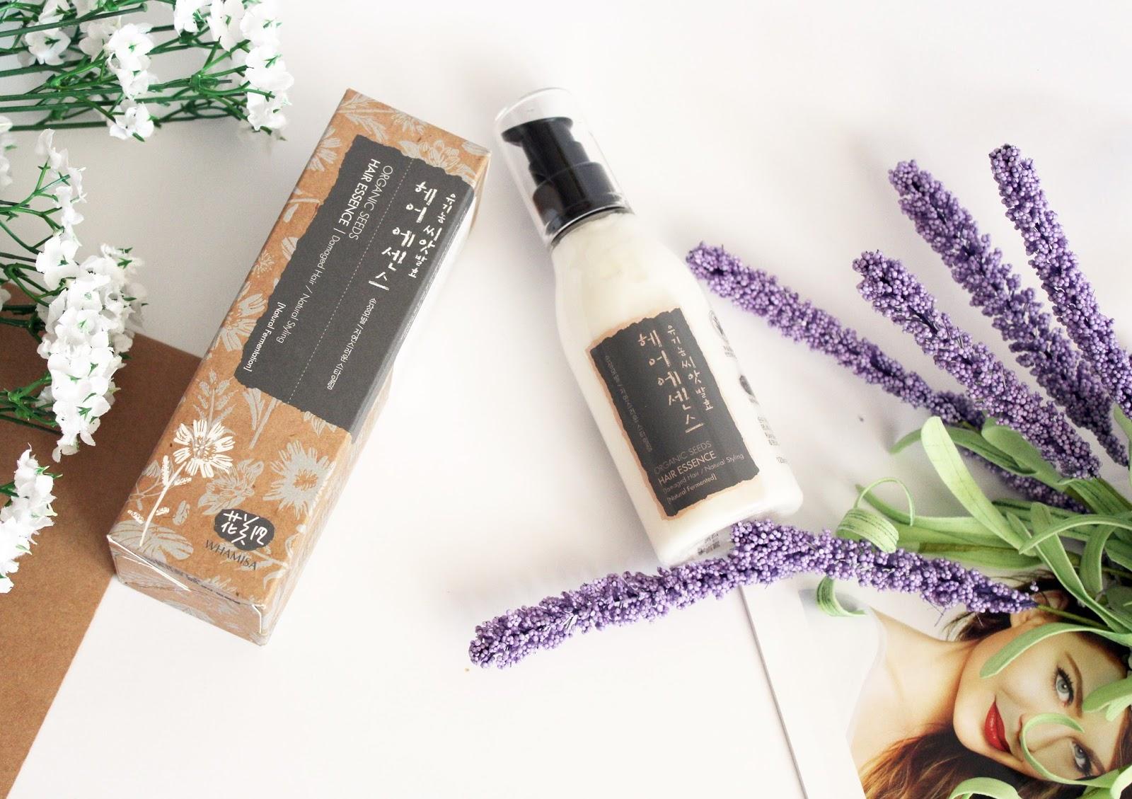 Whamisa, Organic Seeds Hair Essence
