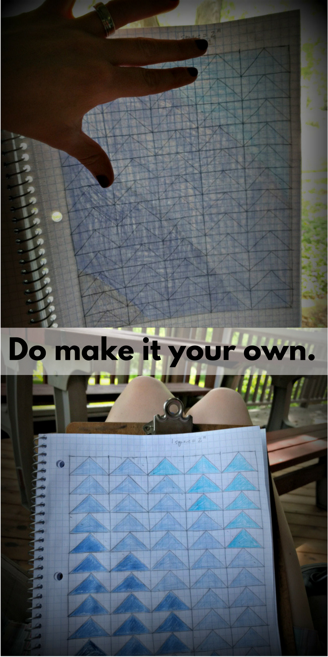 Tip No. 8: Do make it your own with an original quilt design!