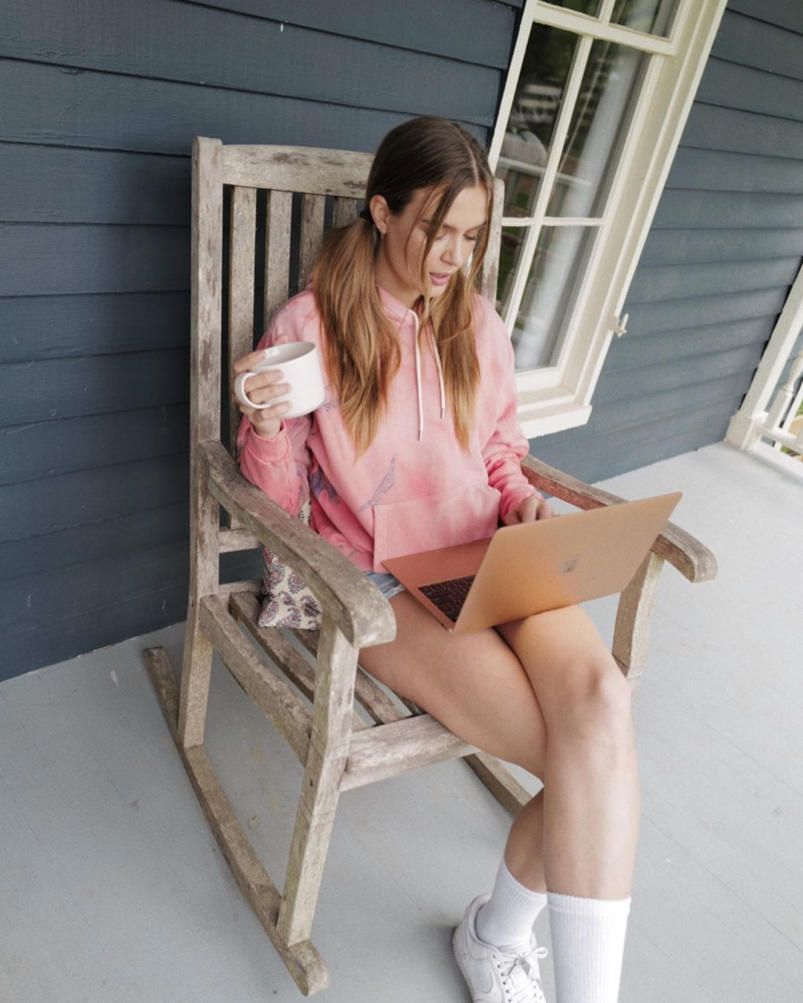 Josephine Skriver Hot Photoshoot in Denim Shorts 2