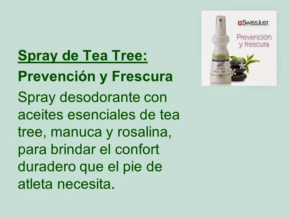 Productos y Servicios para tus pies y cuerpo: JUST: LINEA TEA TREE ...