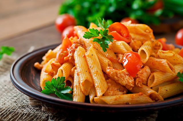 verse pasta, menukaart, pasta