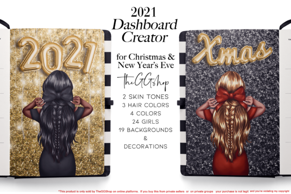 New Year & Christmas Planner Kit 5734198