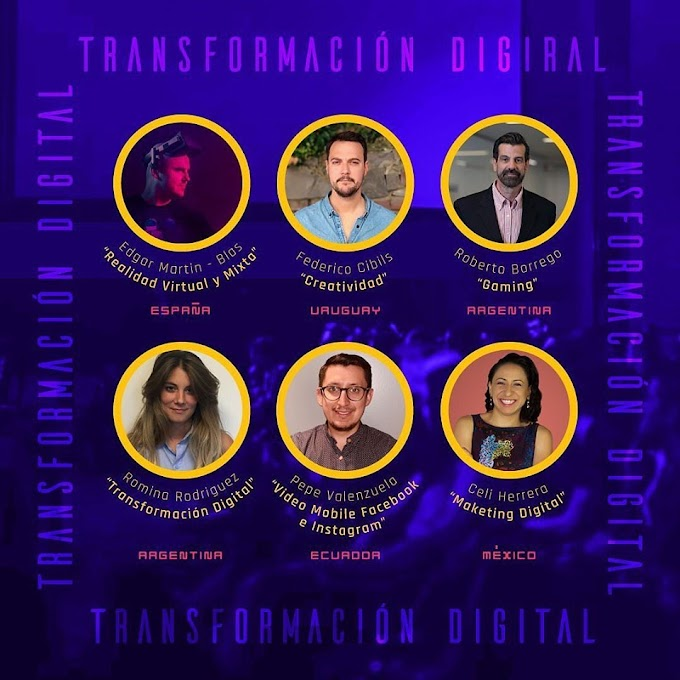 Te invitamos al Congreso de Transformación Digital - Digital Fighters