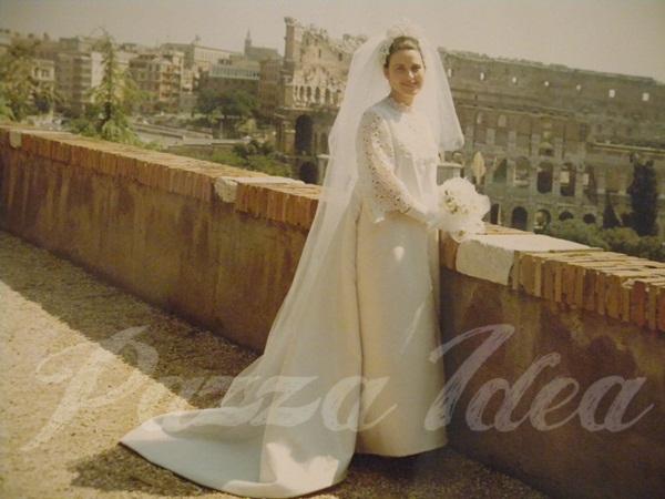 Molto Pazza Idea: L'abito da sposa anni 60 di Enrica SN44