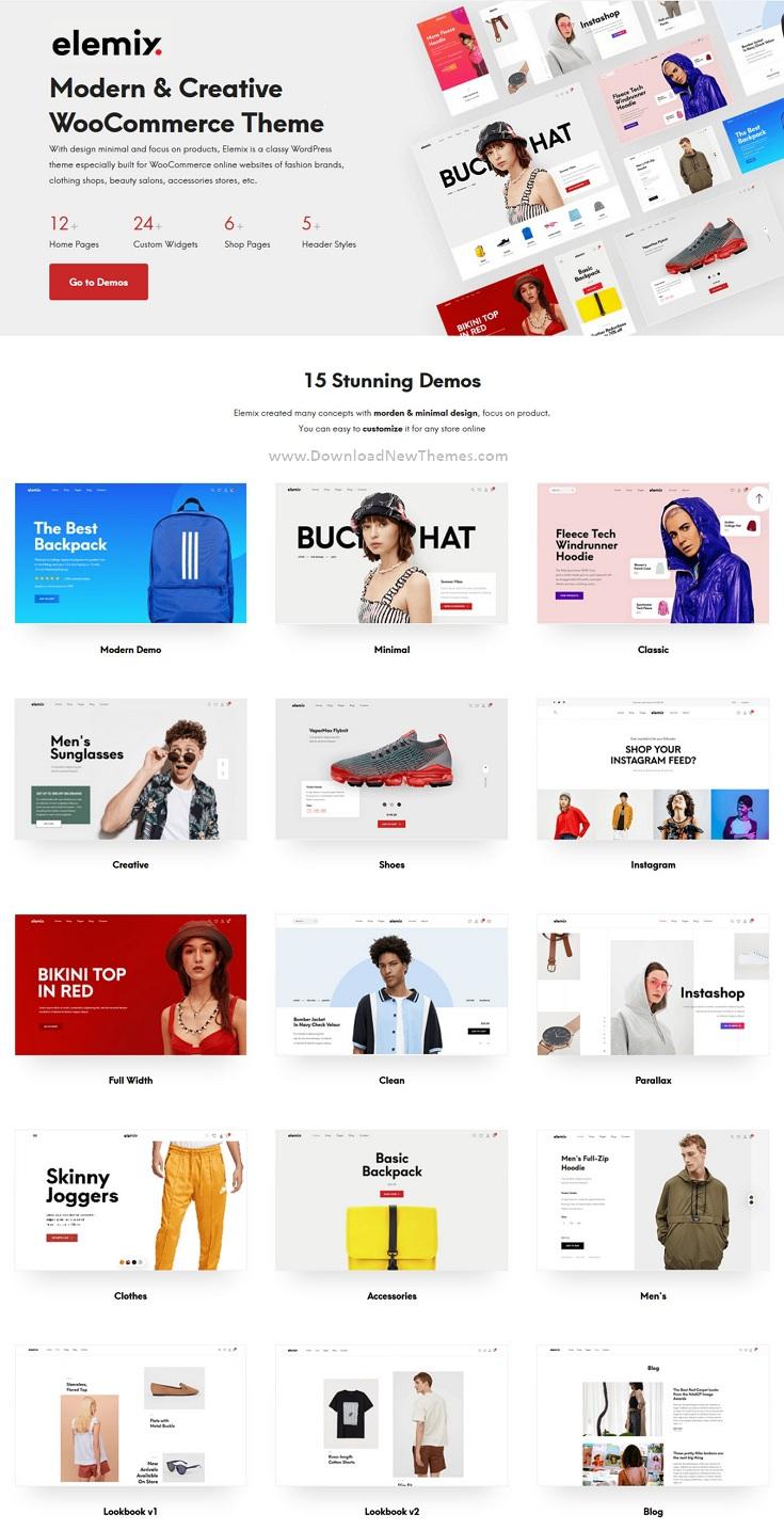 Modern & Creative Elementor WooCommerce Theme