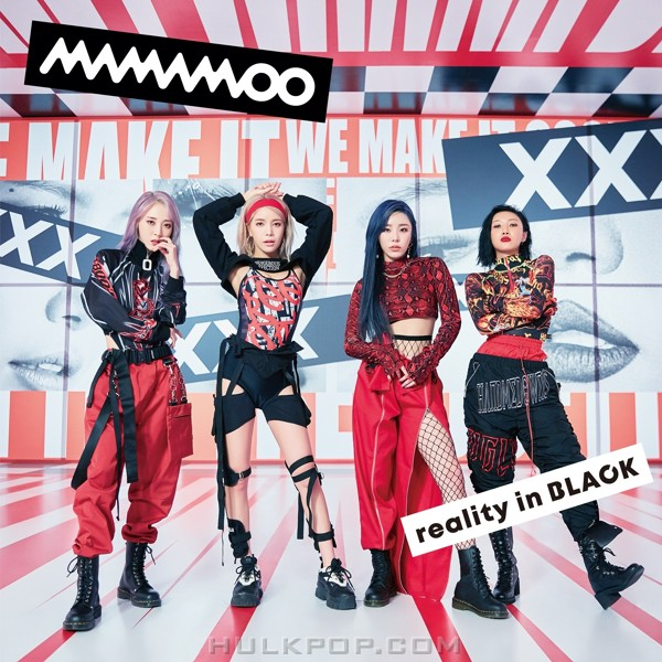 MAMAMOO – reality in BLACK-Japanese Edition-