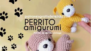 Patrones de Perro Amigurumi