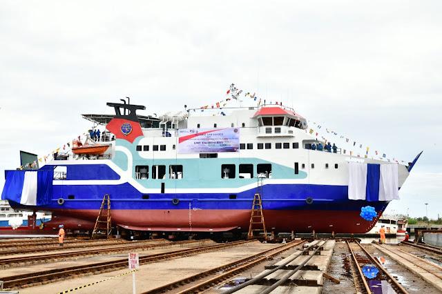 Gubernur Sulsel : Pembangunan Kapal Ro-ro 500 GT Sangat Tepat Menghubungkan Bira-Pamatata Selayar