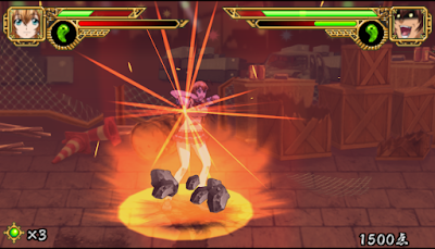 【PSP】一騎當千:雄辯之拳,漫畫改編格鬥對戰遊戲!