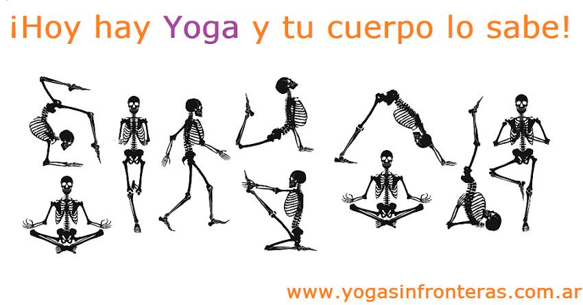 Hoy hay Yoga y tu cuerpo lo sabe.
