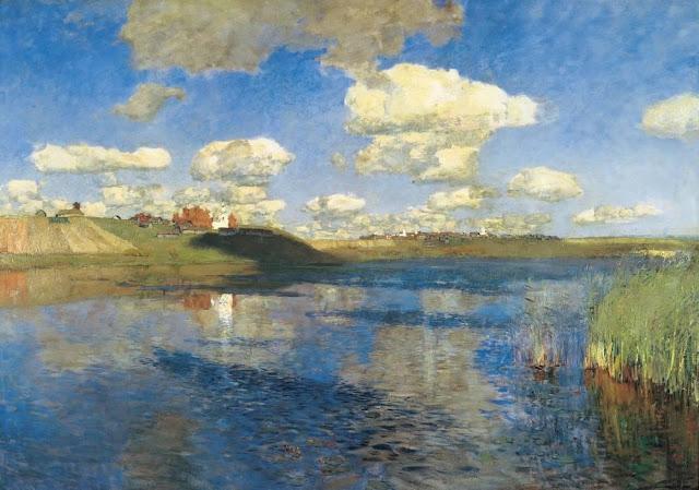 Исаак Ильич Левитан - Озеро. Русь. 1899-1900