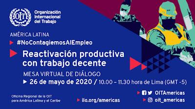 OIT Webinar 26 de mayo: Reactivación Productiva con Trabajo Decente